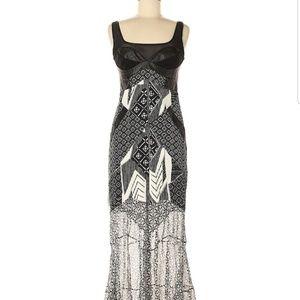Dvf Diane Von Furstenberg Maxi Silk Dress 6